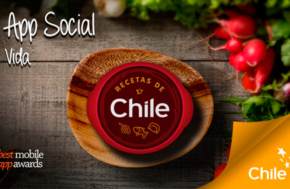 Chilean Cuisine Mobile App Wins New International Award | Marca Chile