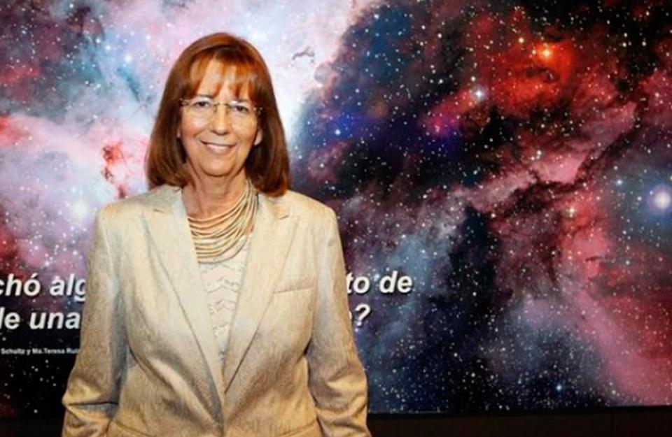 Chilean Astronomer María Teresa Ruiz receives the L'Oréal-UNESCO For Women in Science Award | Marca Chile