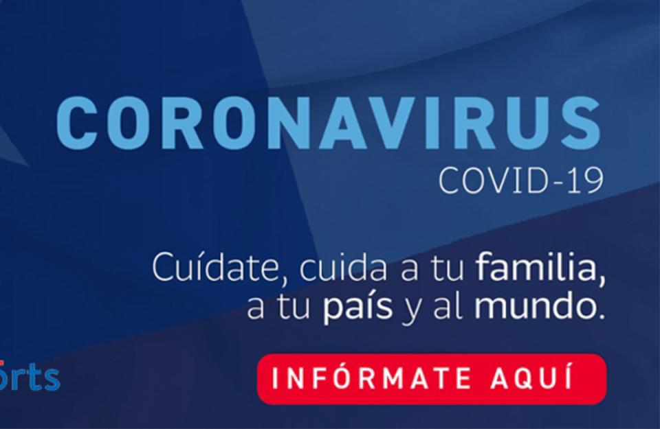 ChileReports: Información oficial sobre el coronavirus   Marca Chile