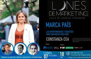 """Constanza Cea compartió las oportunidades y desafíos para la marca país en """"Lunes de Marketing"""""""