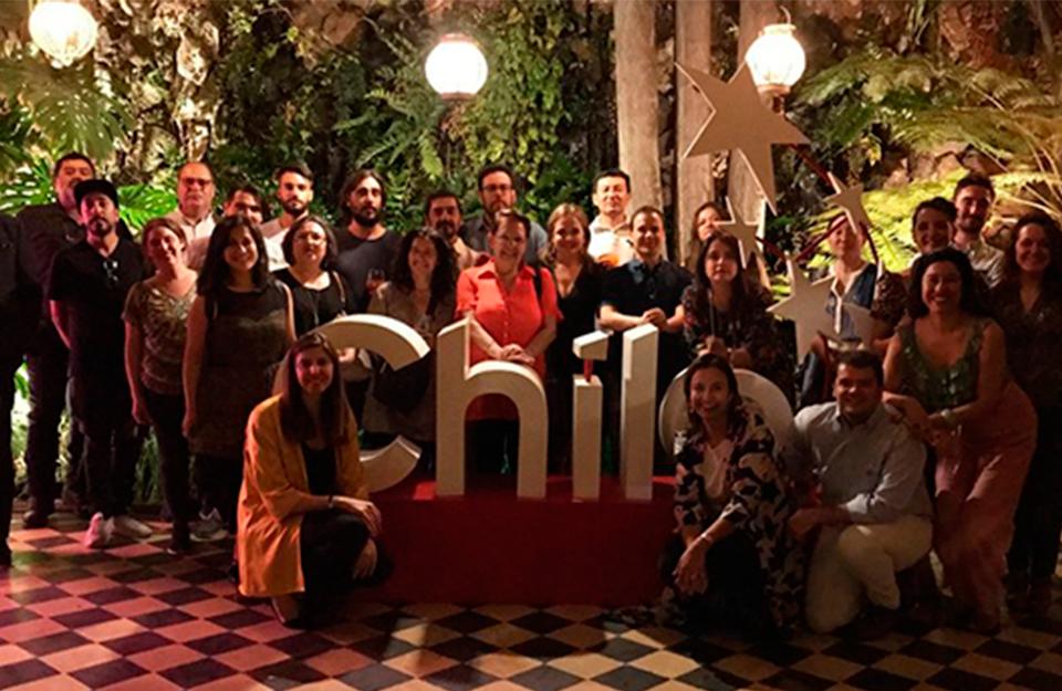 Encuentro entre Imagen de Chile y corresponsales | Marca Chile