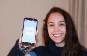 Estudiante chilena creó aplicación seleccionada entre las 100 mejores del mundo