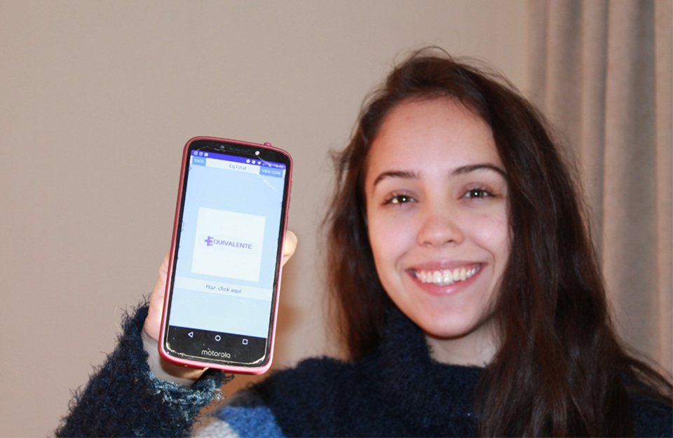 Chilean student created an app selected among the 100 best in the world | Marca Chile