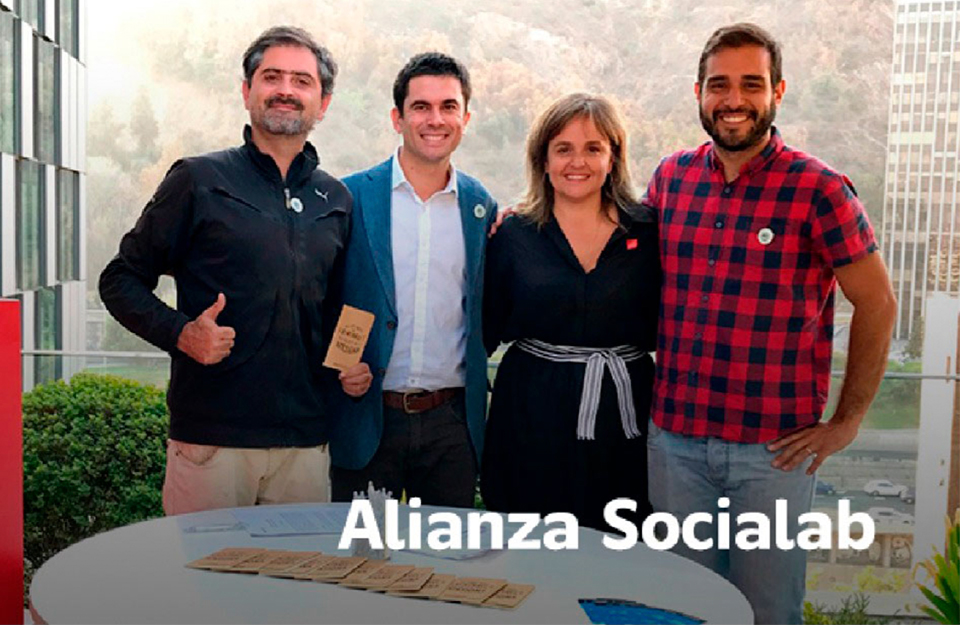 Imagen de Chile firma alianza con Socialab para impulsar a innovadores sociales | Marca Chile