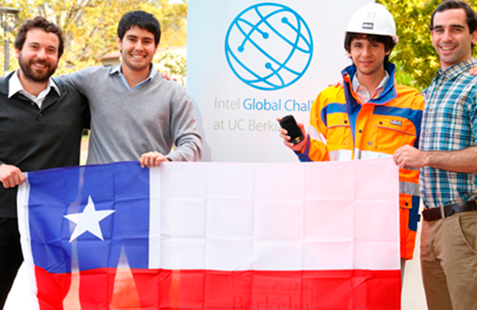 Proyecto chileno gana Desafío Intel Global en Silicon Valley