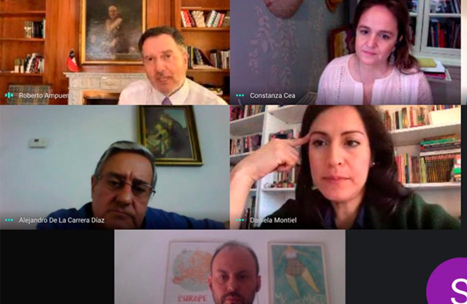Reunión de colaboración entre Imagen de Chile y la Embajada de Chile en España