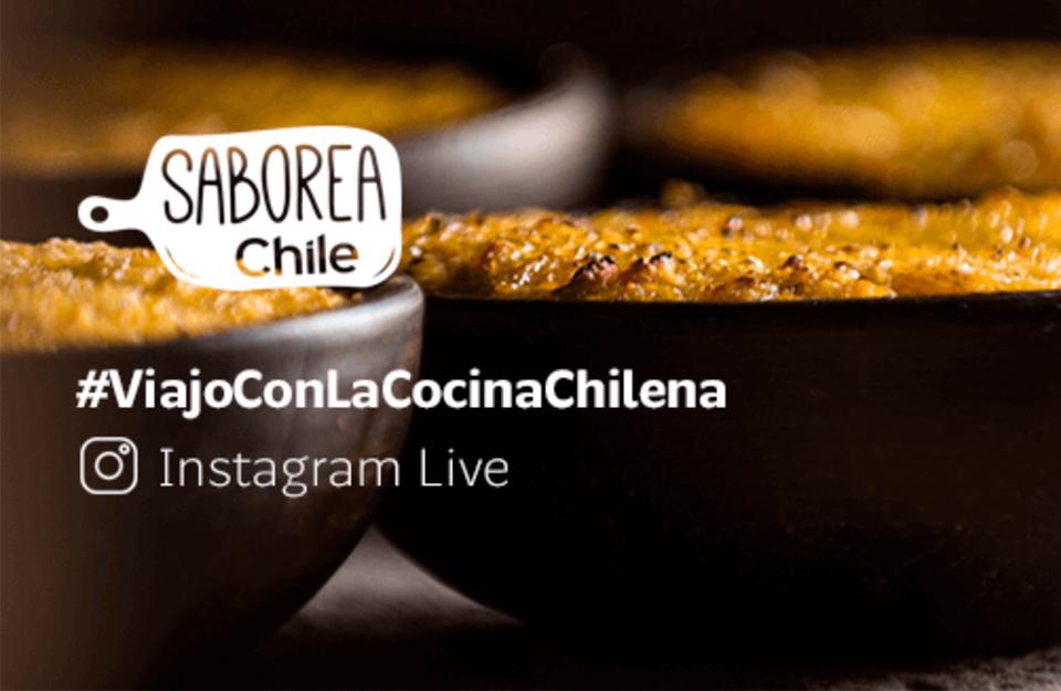 Saborea Chile: los Instagram Live de la gastronomía