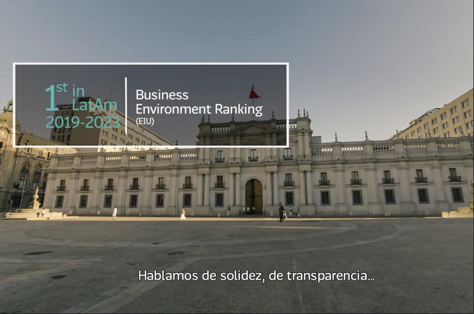 Chile rankeado nº1 en potencial para inversión extranjera de Latinoamérica | Marca Chile