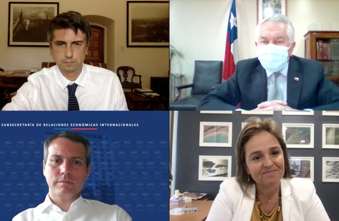 En exclusiva para la prensa internacional: Balance a un mes de iniciada la campaña de vacunación en Chile con los articuladores del exitoso plan