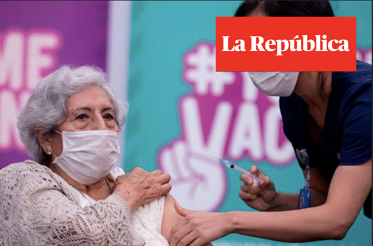 Chile could be the first country to achieve herd immunity according to a JP Morgan report | Marca Chile
