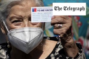 Chile va a la delantera de América Latina con una de las tasas de vacunación más veloces del mundo