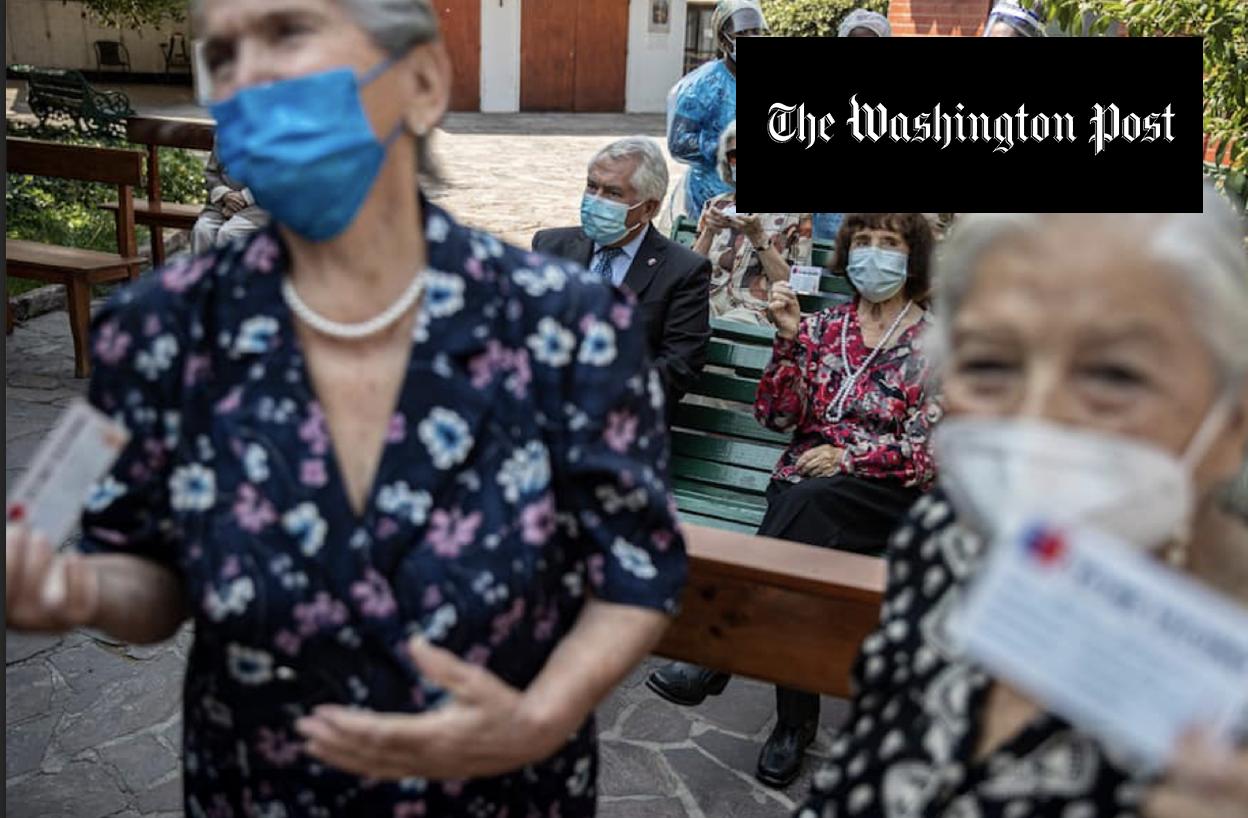Chile se convierte en el líder de América Latina en la vacunación contra el COVID-19 | Marca Chile