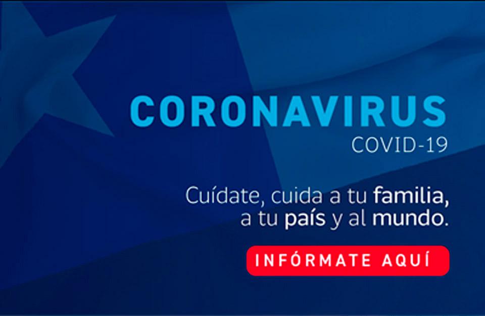 ChileReports: Información oficial sobre el coronavirus | Marca Chile