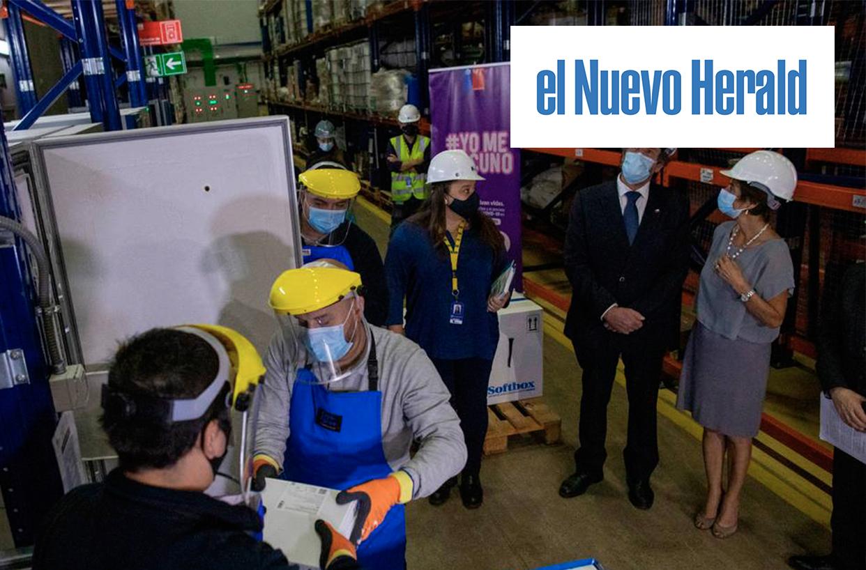 Chile dona miles de vacunas chinas a Ecuador y Paraguay | Marca Chile
