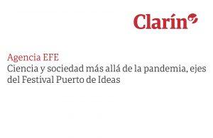 Ciencia y sociedad más allá de la pandemia, ejes del Festival Puerto de Ideas