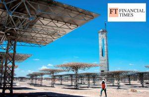 Recursos renovables inspiran el sueño de Chile de exportar energía verde