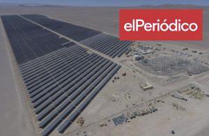 Naturgy pone en marcha dos nuevos parques renovables en Chile