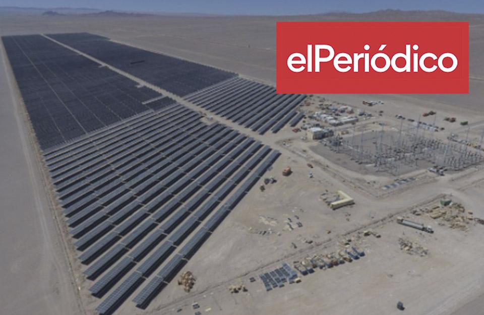 Naturgy pone en marcha dos nuevos parques renovables en Chile | Marca Chile