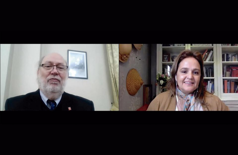 Presidente del Consejo Directivo del Servel se refiere a la histórica megaelección en Chile con la prensa internacional