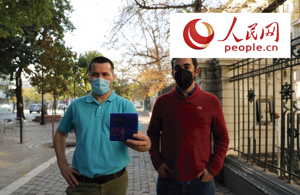 Chileans create device to measure CO2 and assess risk of Covid-19 infections | Marca Chile