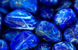 Fotos de piedras semipreciosas como el lapislazuli