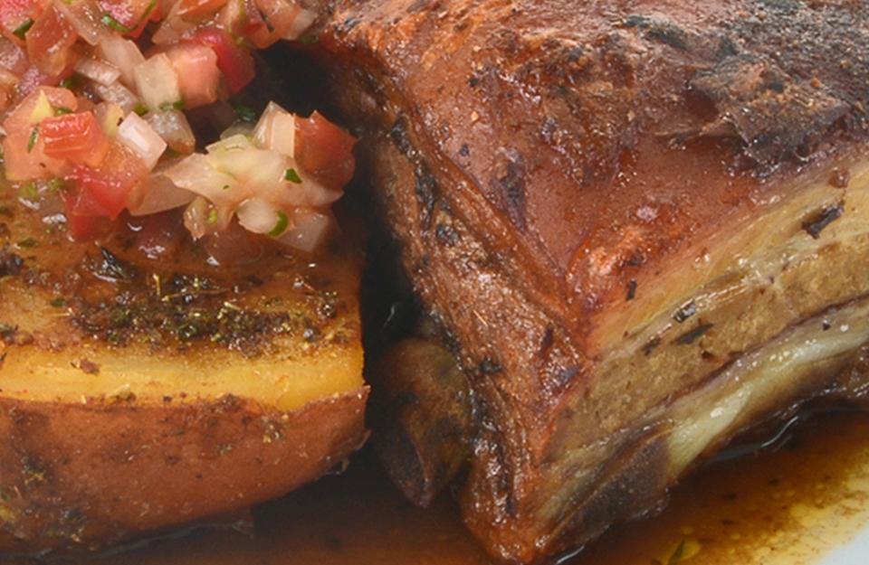 Costillar de Cerdo al Horno | Marca Chile