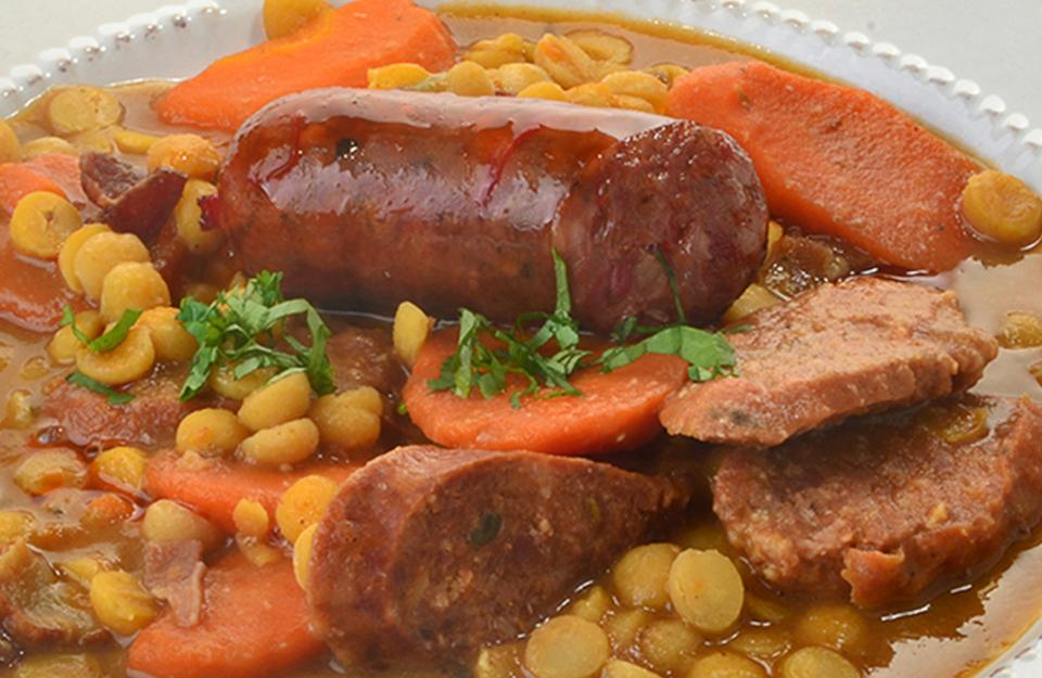 Garbanzos con Chorizo | Marca Chile
