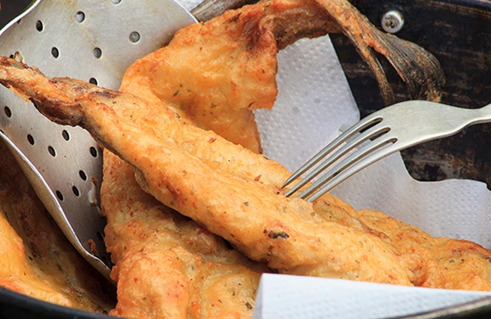 Merluza Frita | Marca Chile