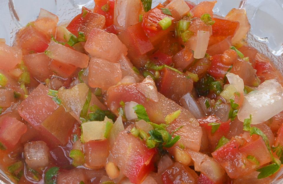 Pebre de Tomate y Cebolla | Marca Chile