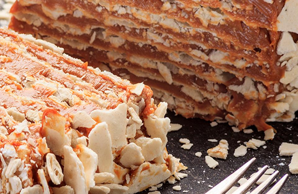 Torta de Hojarasca   Marca Chile