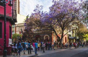 Caminando por los barrios y rincones de Santiago