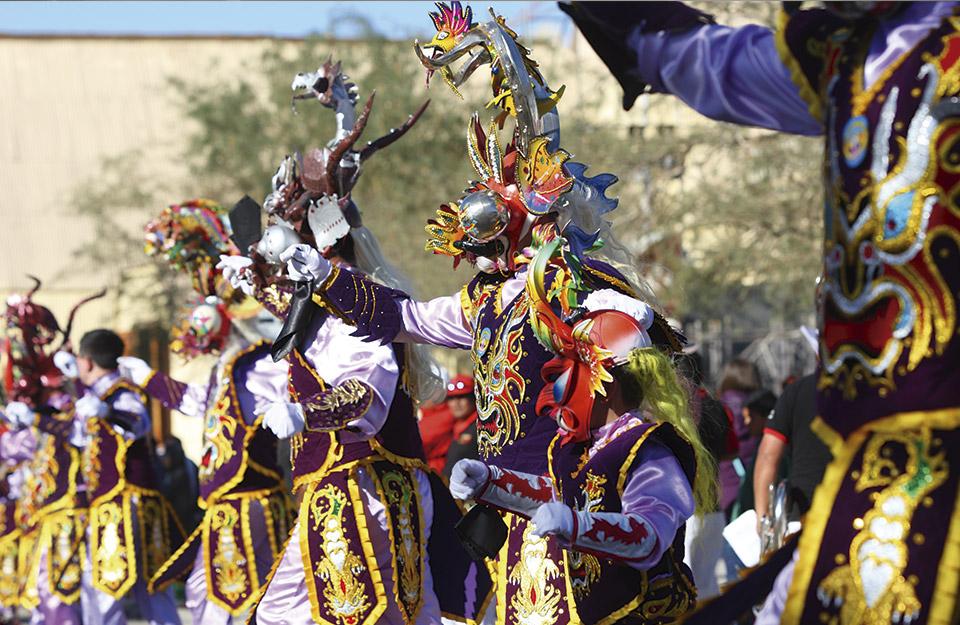 La Tirana, una de las principales celebraciones multiculturales de Chile