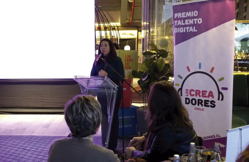 """Imagen de Chile participa de lanzamiento de 5ª versión del premio Talento Digital """"Los Creadores"""""""