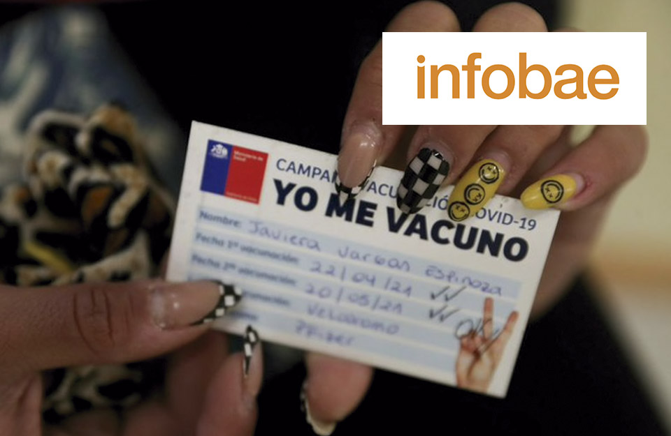 Chile reached its main objective: 80% of its over 18 population has been vaccinated with both doses