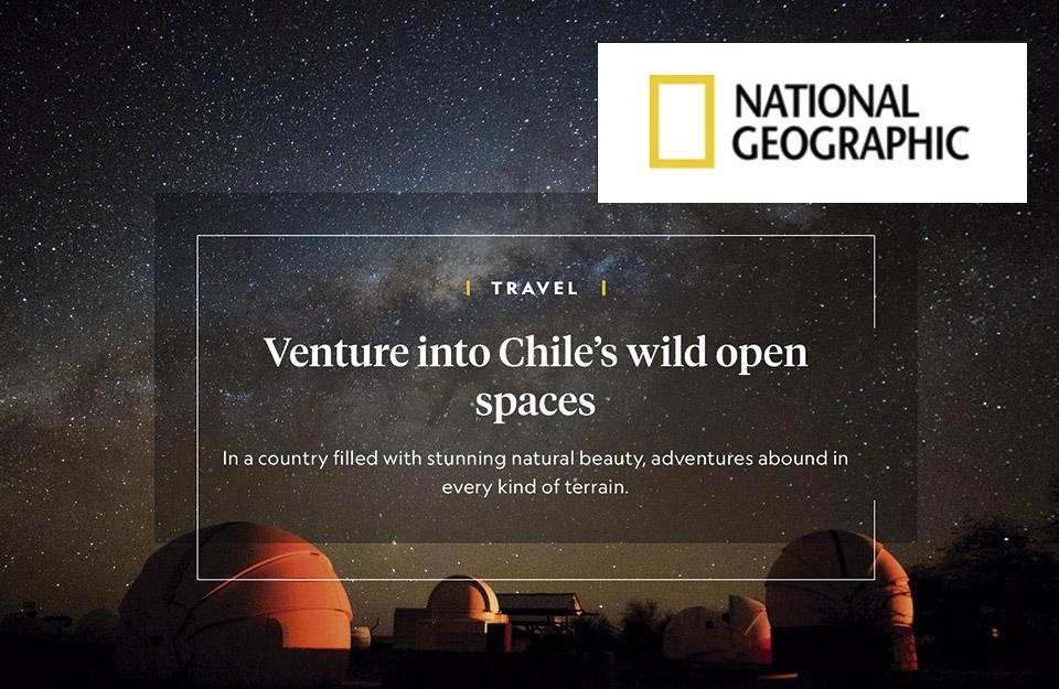 Aventúrate en los espacios abiertos silvestres de Chile