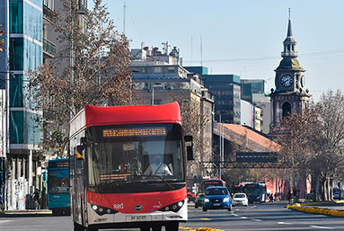 Chile extenderá electromovilidad al norte del país con flota de 100 autobuses