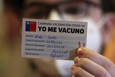Nuevas pistas sobre la efectividad de las vacunas contra el covid, en un revelador estudio hecho en Chile