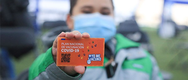 Chile arranca con la vacunación de menores desde los seis años