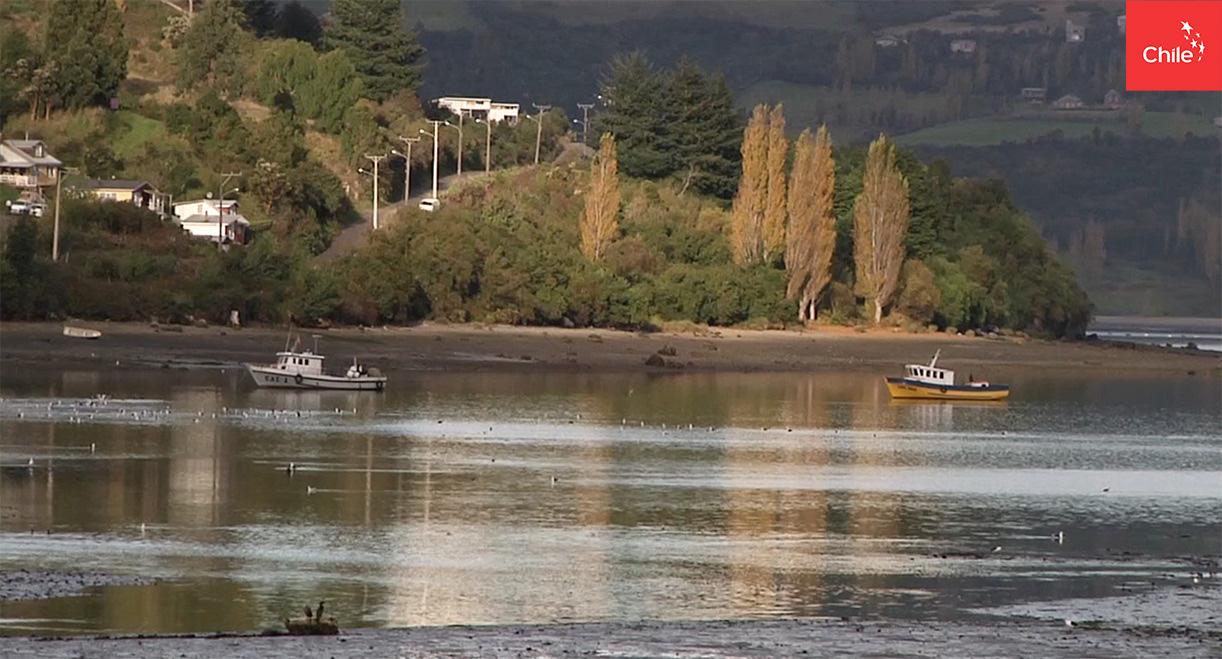 Atardecer en Chiloé | Marca Chile | Toolkit