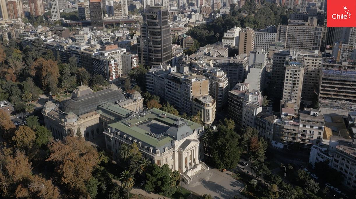 Barrio Bellas Artes en Santiago | Marca Chile | Toolkit