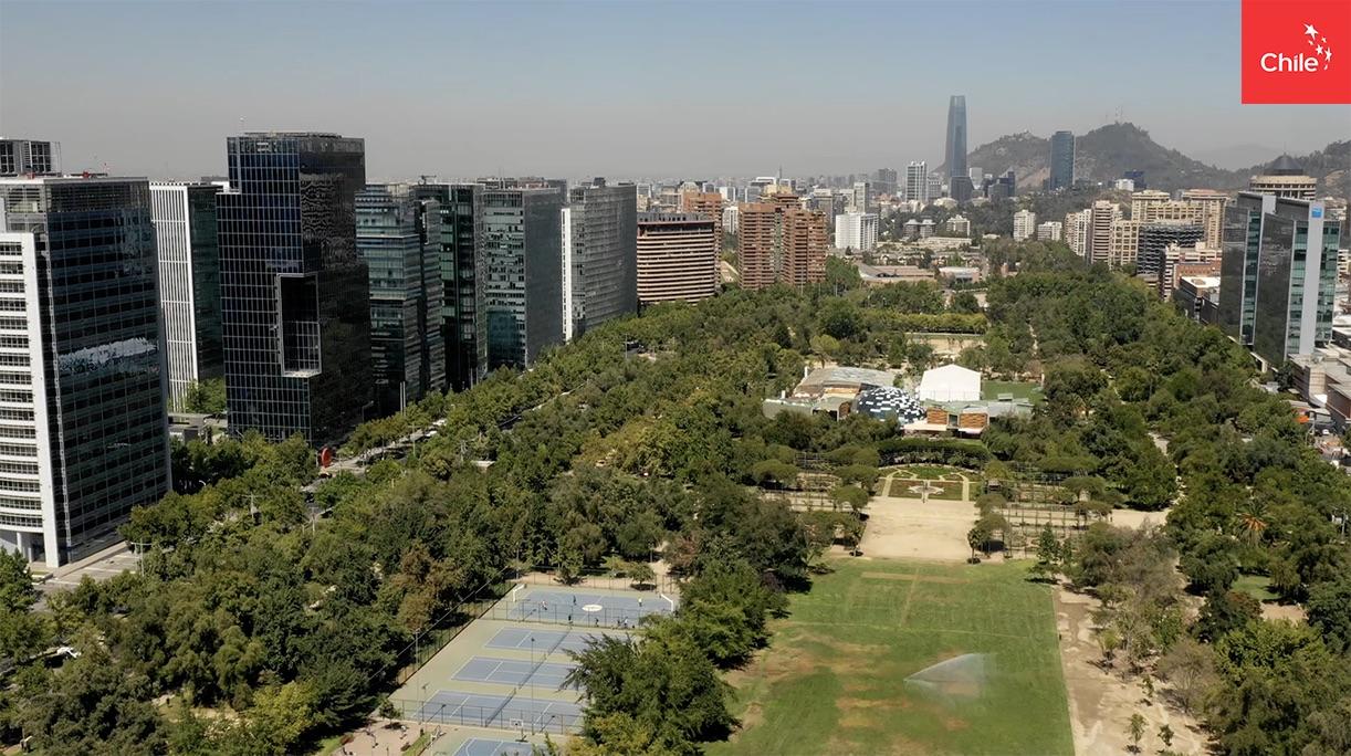 Edificios Parque Araucano   Marca Chile   Toolkit