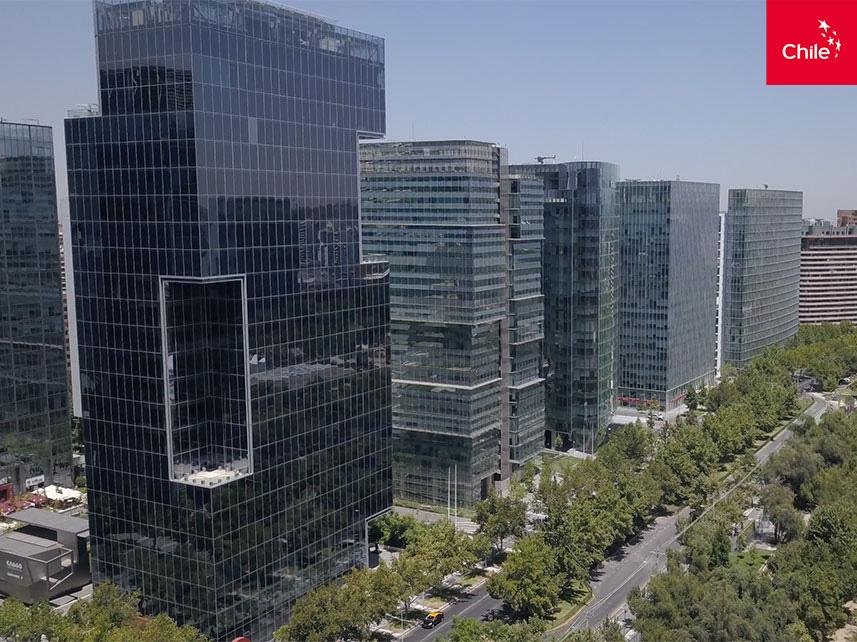 Edificios frente al parque Araucano | Marca Chile | Toolkit