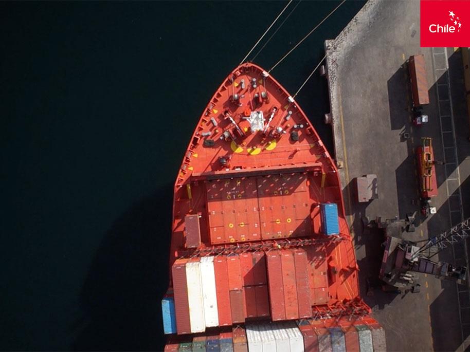 exportación marítima (footage) | Marca Chile | Toolkit