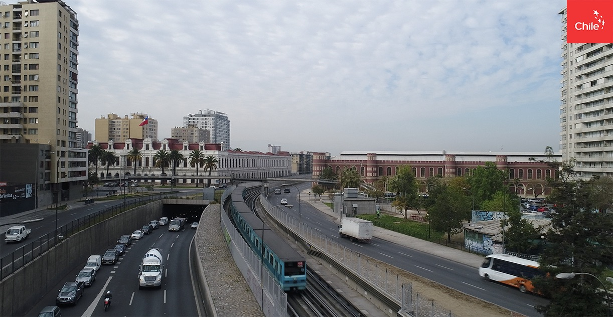 Exterior Metro | Marca Chile | Toolkit