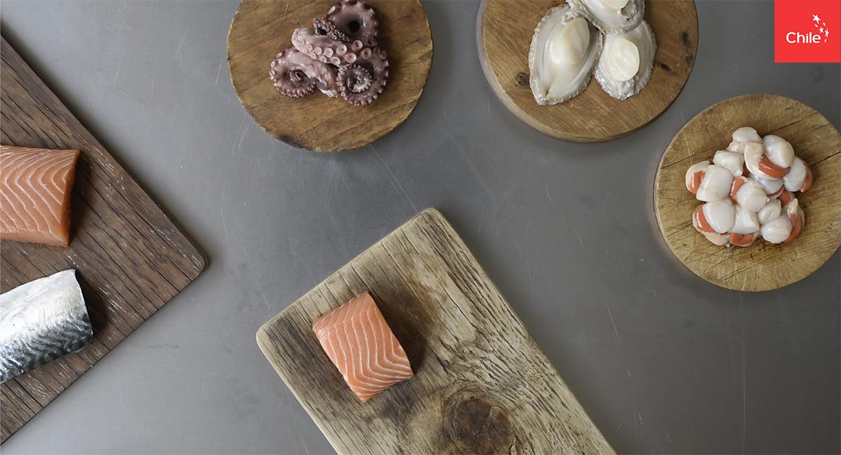 Frutos del mar | Marca Chile | Toolkit