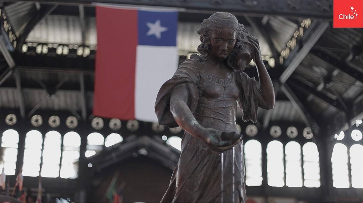 Pileta en Mercado Central | Marca Chile | Toolkit