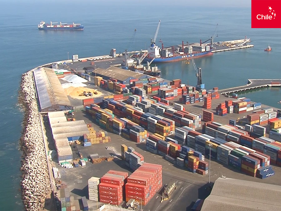Puerto de Arica | Marca Chile | Toolkit