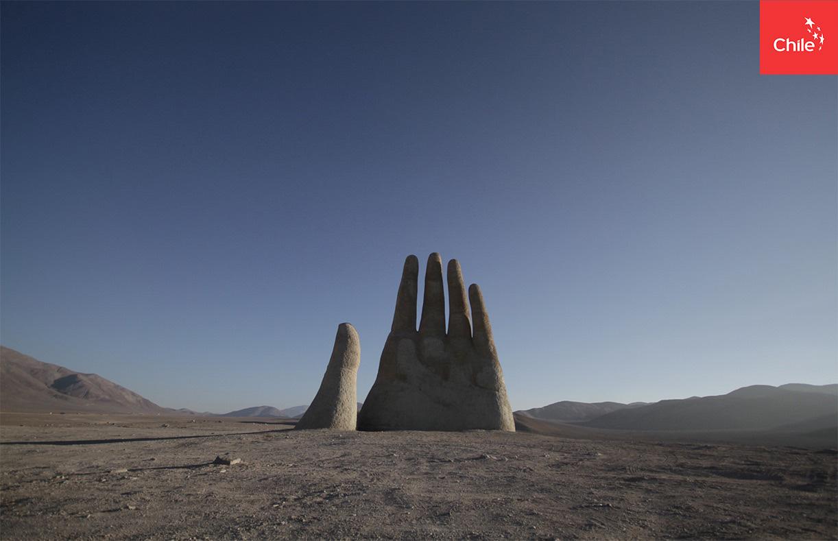 Timelapse Mano en el Desierto | Marca Chile | Toolkit