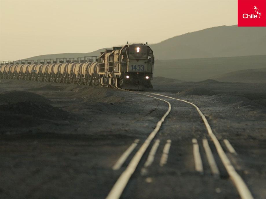 Tren y desierto | Marca Chile | Toolkit