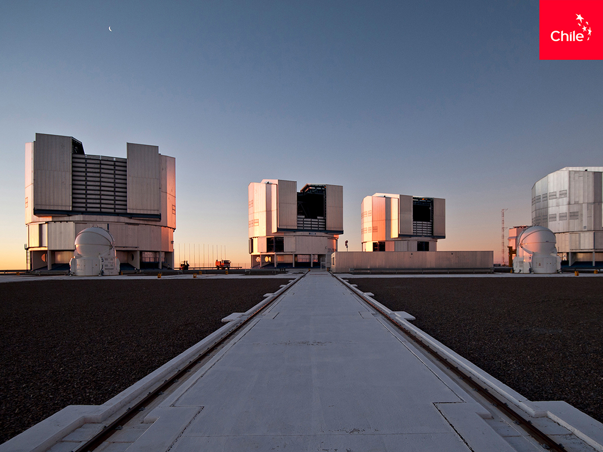 Atardecer Observatorio Paranal | Marca Chile | Toolkit